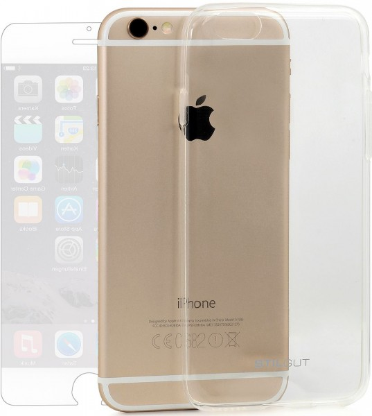 StilGut - iPhone 6s Bumper Ghost inkl. Schutzfolie