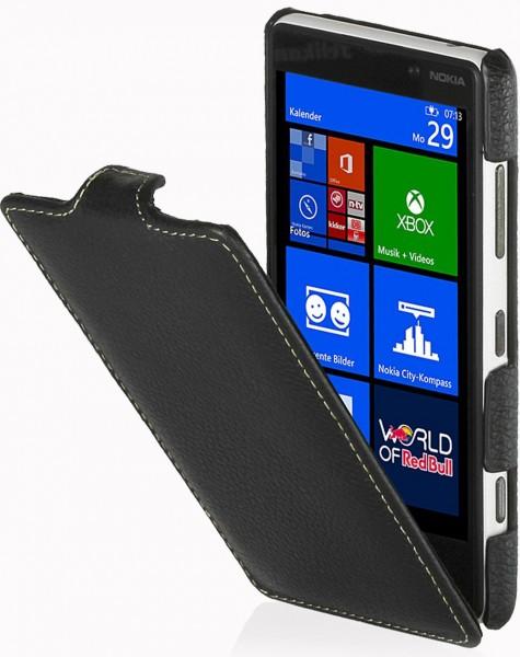 StilGut - UltraSlim Case für Nokia Lumia 820 aus Leder