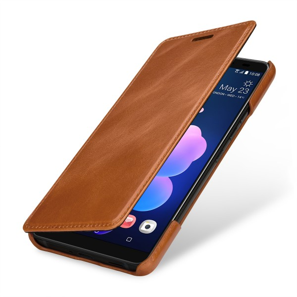StilGut - HTC U12+ Case Book Type ohne Clip