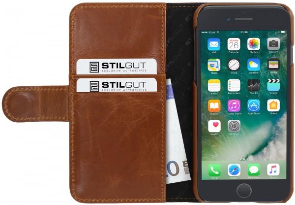 StilGut - iPhone 7 Plus Hülle Talis mit Kreditkartenfach
