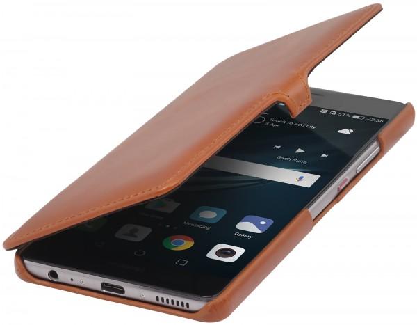 StilGut - Huawei P9 Plus Tasche Book Type mit Clip
