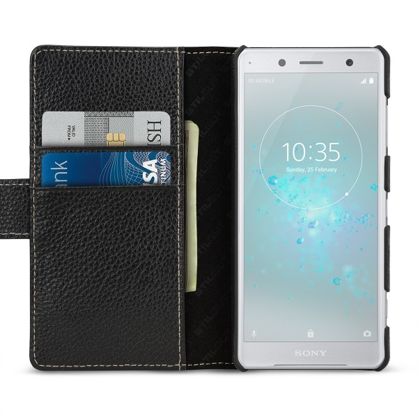 StilGut - Sony Xperia XZ2 Compact Hülle Talis mit Kreditkartenfach