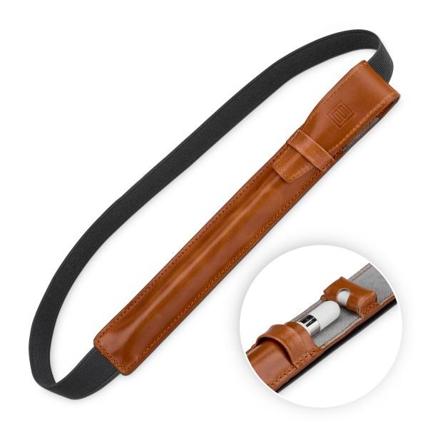 """StilGut - iPad Pro 10.5"""" Pencil-Halter mit Lightning Adapter-Fach & Lasche"""