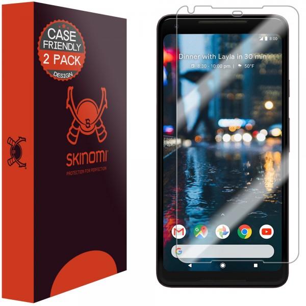 Skinomi - Displayschutzfolie Google Pixel 2 XL (2er Pack)