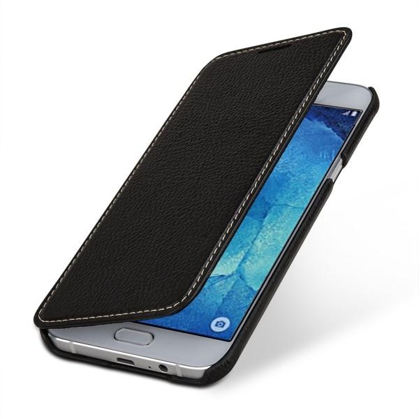 """StilGut - Handyhülle für Galaxy A8 (2015) """"Book Type"""" ohne Clip"""