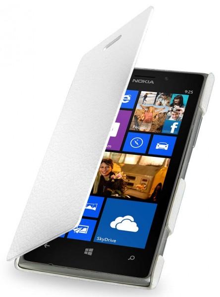 "StilGut - Ledertasche ""Book Type"" für Nokia Lumia 925"