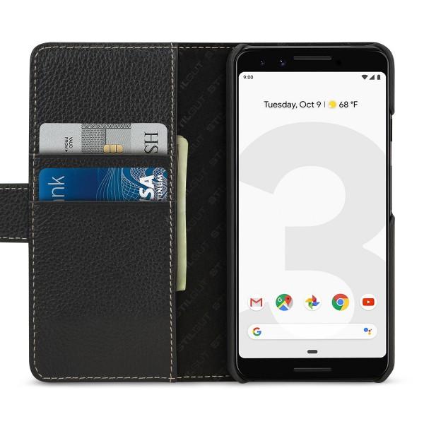 StilGut - Google Pixel 3 Hülle Talis mit Kartenfach
