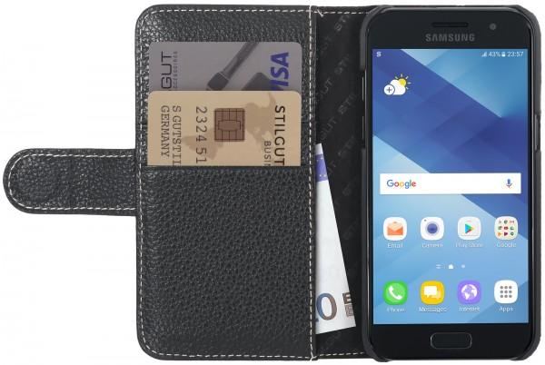StilGut - Samsung Galaxy A3 (2017) Hülle Talis mit Kreditkartenfach