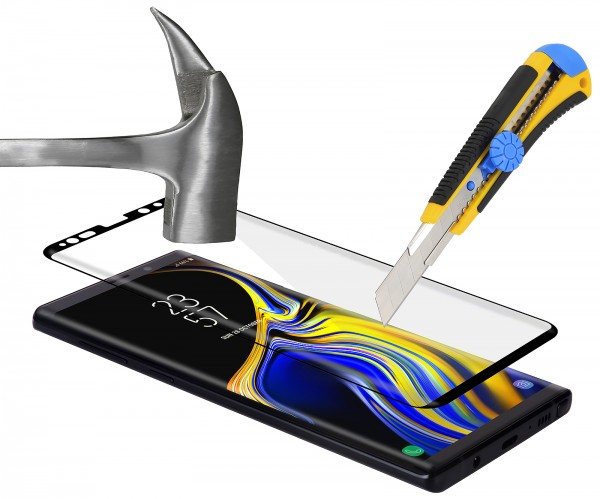 StilGut - Samsung Galaxy Note 9 Panzerglas 3D Full Cover