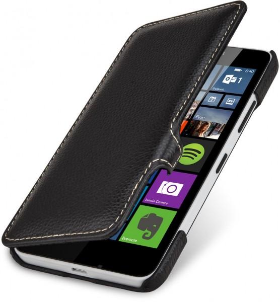 """StilGut - Handyhülle für Lumia 640 """"Book Type"""" mit Clip"""