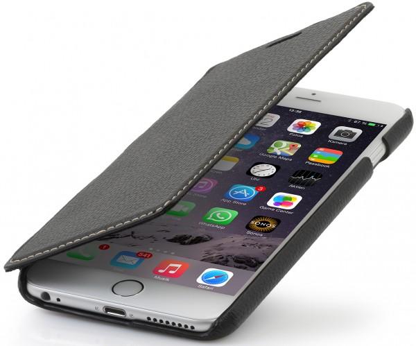 """StilGut - Handyhülle für iPhone 6 """"Book Type"""" aus Leder ohne Clip"""