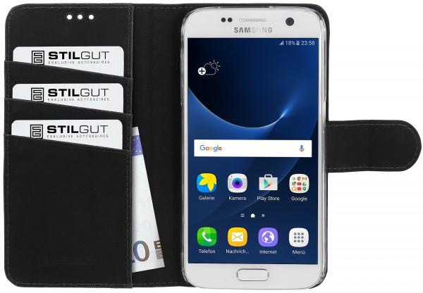StilGut - Samsung Galaxy S7 Hülle Talis mit Standfunktion