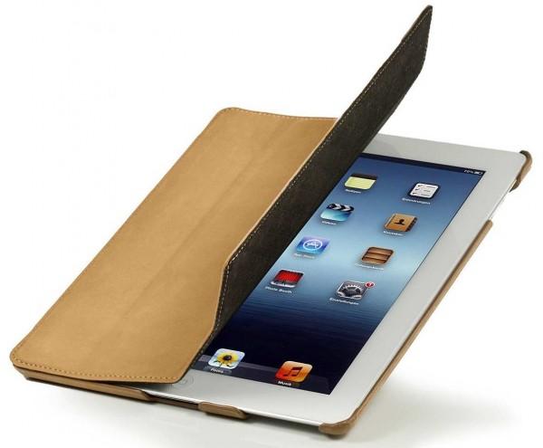 StilGut - Couverture Case aus Leder für iPad 3 & iPad 4