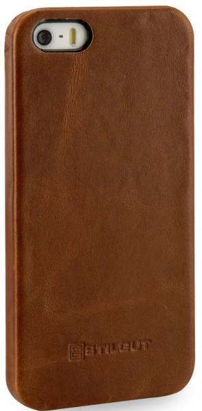 StilGut - iPhone SE Cover aus Leder