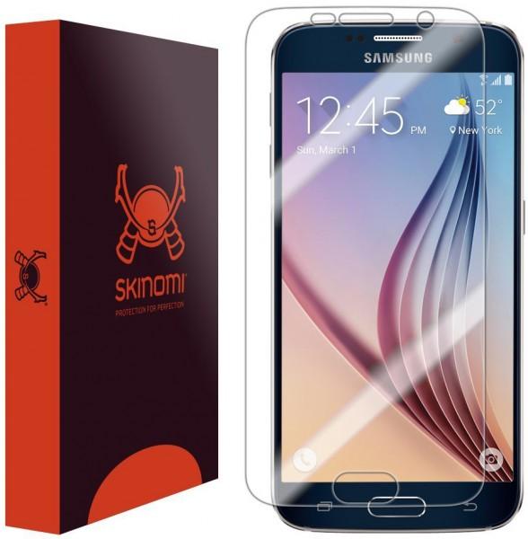 Skinomi - Schutzfolie für Samsung Galaxy S6 TechSkin