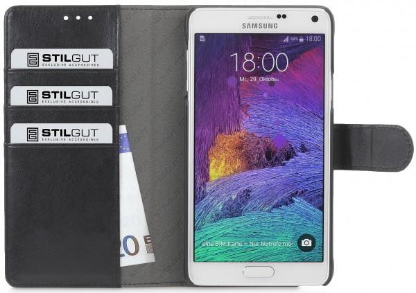 """StilGut - Samsung Galaxy Note 5 Hülle """"Talis"""" mit Kreditkartenfach"""