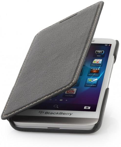 """StilGut - Handyhülle für BlackBerry Z30 """"Book Type"""" ohne Clip"""