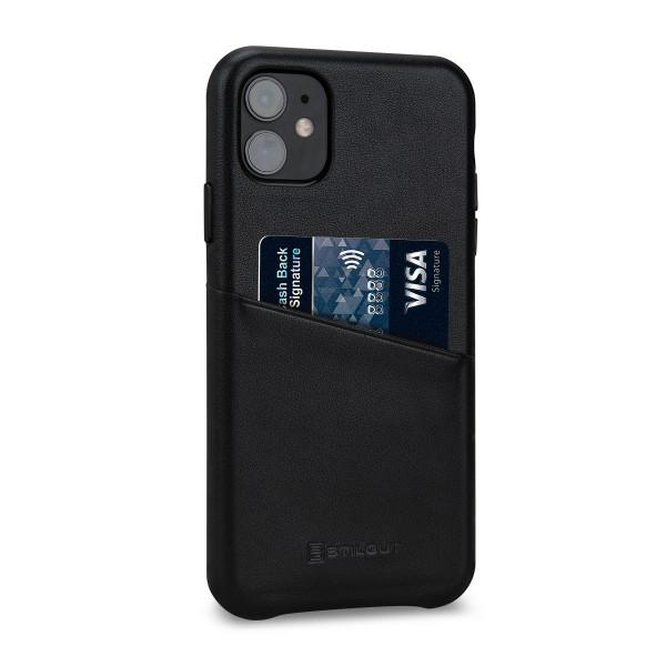 StilGut - iPhone 11 Cover Premium mit Kartenfach