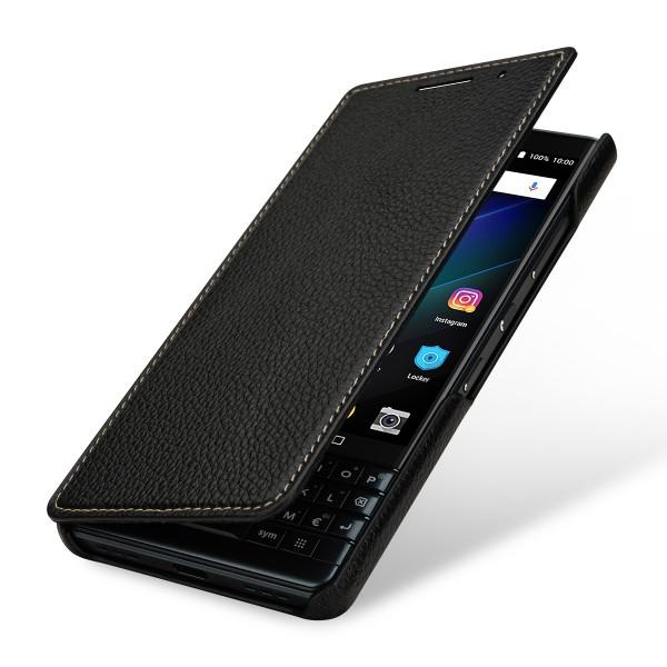 StilGut - BlackBerry KEY2 LE Case Book Type ohne Clip