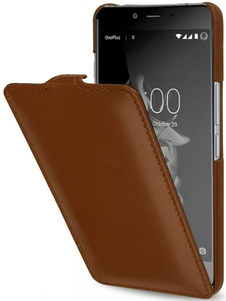 StilGut - OnePlus X Hülle UltraSlim aus Leder