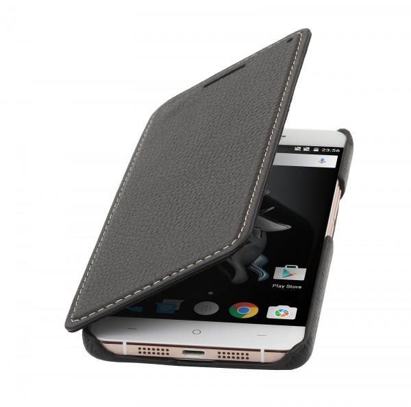 StilGut - OnePlus X Case Book Type aus Leder ohne Clip