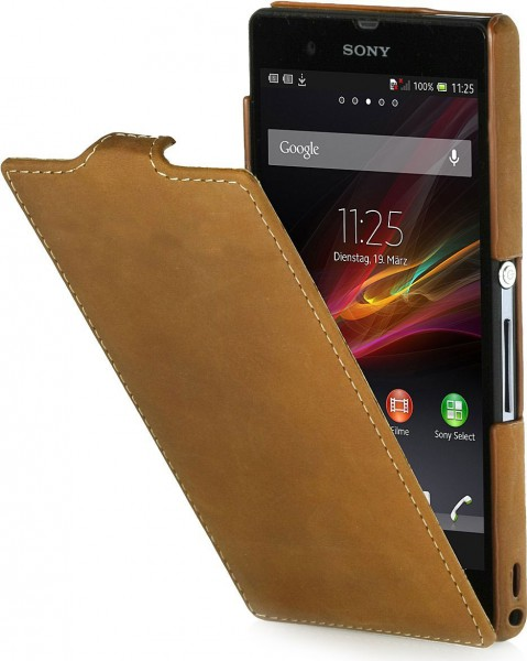 StilGut - UltraSlim Case für Sony Xperia Z Old Style