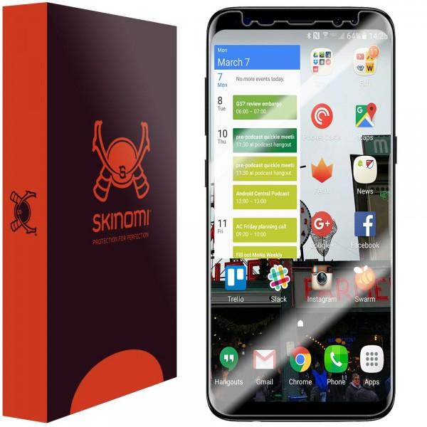 Skinomi - Displayschutzfolie Samsung Galaxy S8