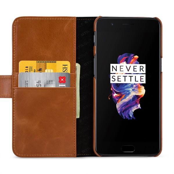 StilGut - OnePlus 5 Hülle Talis mit Kreditkartenfach