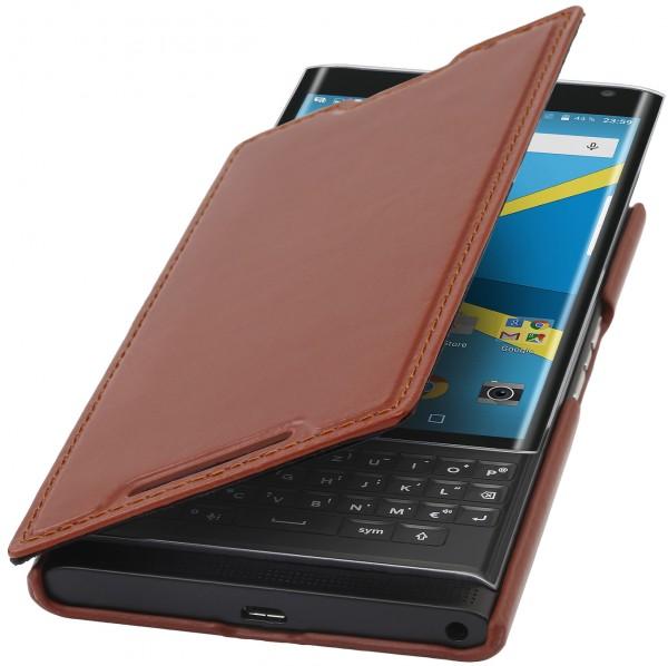 StilGut - BlackBerry PRIV Case Book Type aus Leder ohne Clip