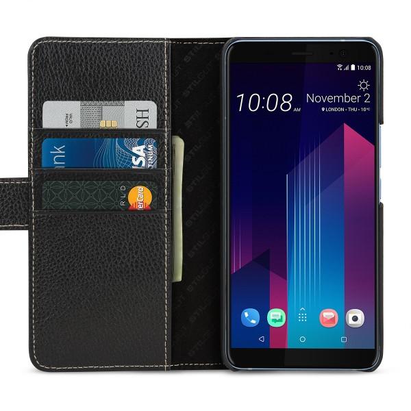 StilGut - HTC U11+ Hülle Talis mit Kreditkartenfach