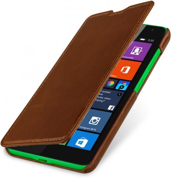 """StilGut - Handyhülle für Microsoft Lumia 535 """"Book Type"""" ohne Clip"""