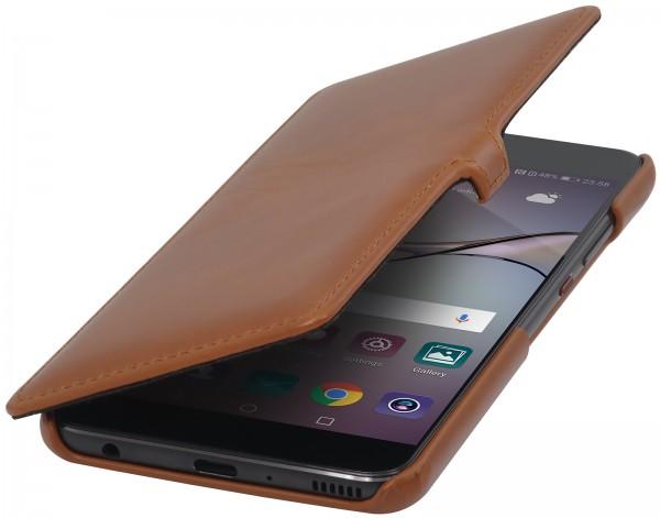 StilGut - Huawei P10 Plus Tasche Book Type mit Clip
