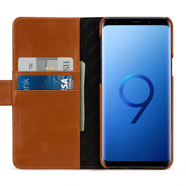 StilGut - Samsung Galaxy S9 Hülle Talis mit Kreditkartenfach