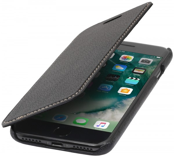 StilGut - iPhone 7 Case Book Type ohne Clip