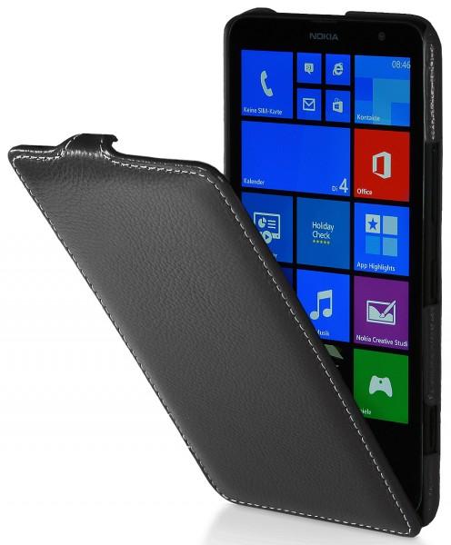 StilGut - UltraSlim Case für Nokia Lumia 1320 aus Leder