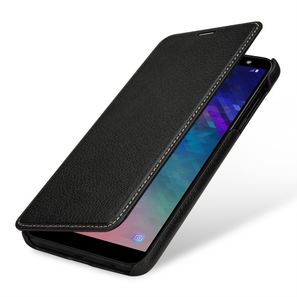 StilGut - Samsung Galaxy A6 Plus (2018) Case Book Type ohne Clip