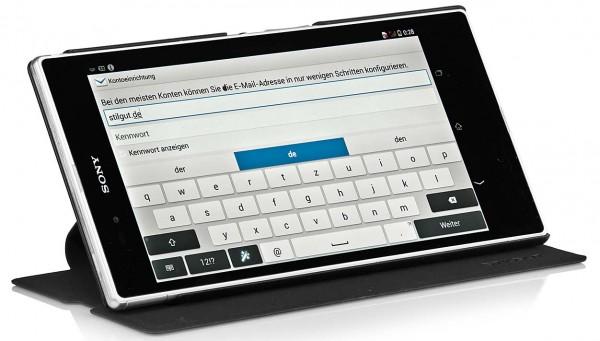 StilGut - Tasche mit Standfunktion für Sony Xperia Z Ultra XL39h