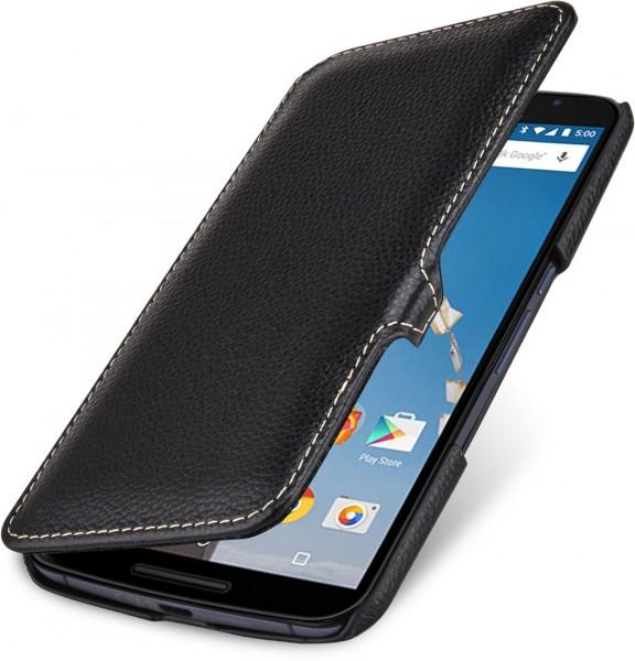 """StilGut - Handyhülle für Nexus 6 """"Book Type"""" mit Clip"""