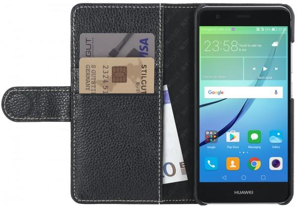 StilGut - Huawei nova Hülle Talis mit Kreditkartenfach