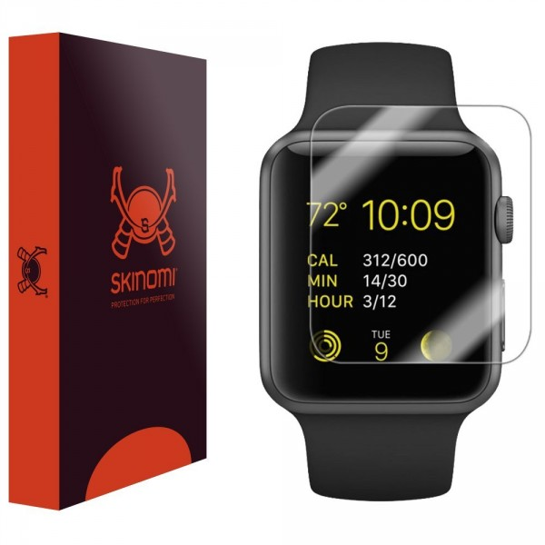 Skinomi - Displayschutzfolie für Apple Watch 38 mm (6er Pack) TechSkin