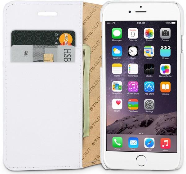 """StilGut - Handyhülle für iPhone 6 """"Talis"""" mit Standfunktion"""