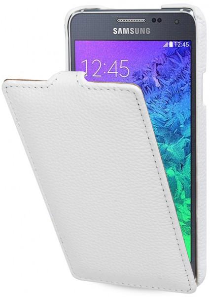 "StilGut - Handyhülle für Samsung Galaxy Alpha ""UltraSlim"" aus Leder"