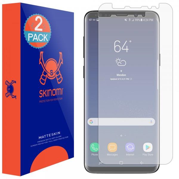 Skinomi - Displayschutzfolie Samsung Galaxy S9 MatteSkin Maximum Coverage