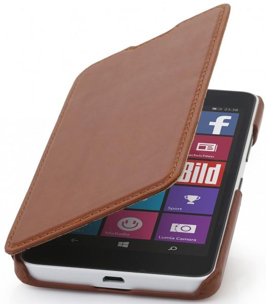 """StilGut - Handyhülle für Lumia 640 """"Book Type"""" ohne Clip"""