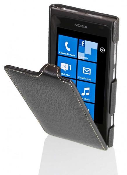 StilGut - UltraSlim Case für Nokia Lumia 800 aus Leder