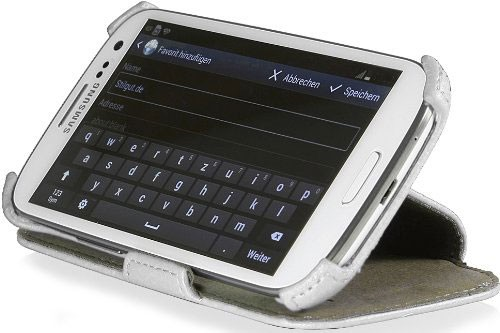 StilGut - Samsung Galaxy S3 Neo UltraSlim Case V2 mit Standfunktion