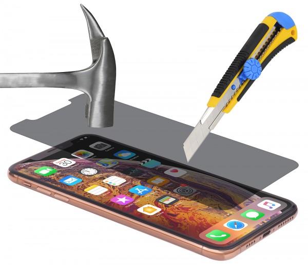 StilGut - iPhone XS Privacy Panzerglas (2er Pack)