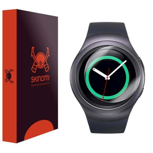Skinomi - Displayschutzfolie Samsung Gear S2 TechSkin (6er Pack)