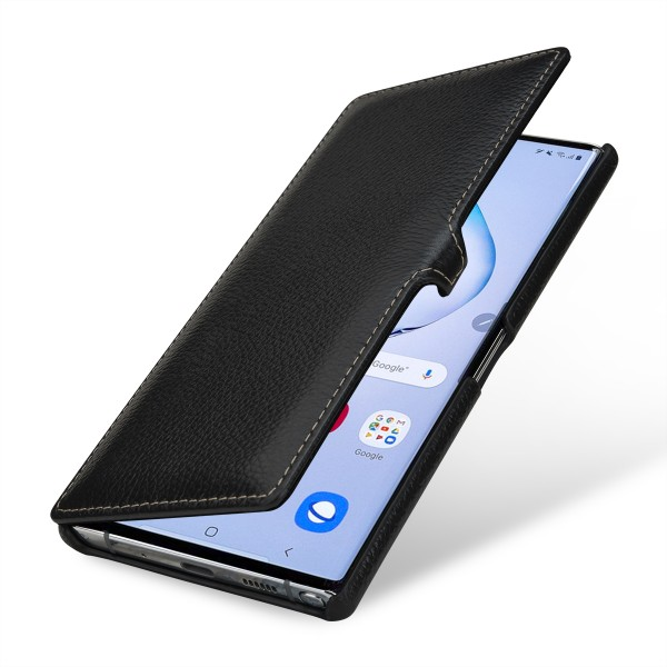 StilGut - Samsung Galaxy Note 10 Plus Tasche Book Type mit Clip
