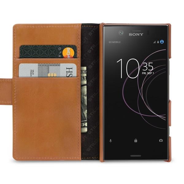 StilGut - Sony Xperia XZ1 Compact Hülle Talis mit Kreditkartenfach